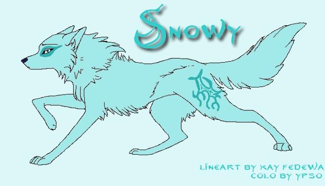 la famille d'Ypso Snowy10