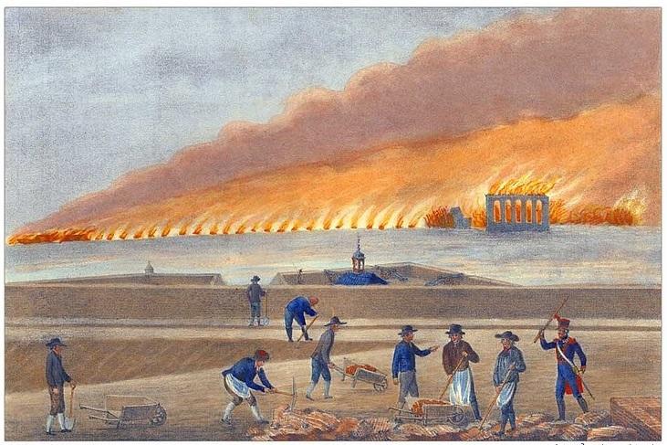 Siège de Hambourg 1813-1814 Destru10