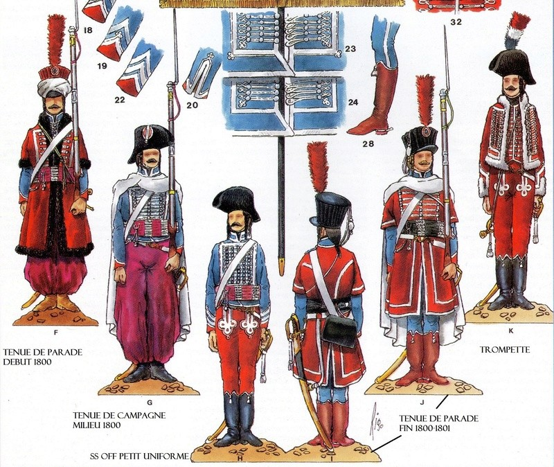 french dromadaire regiment 75 mm Rygime10