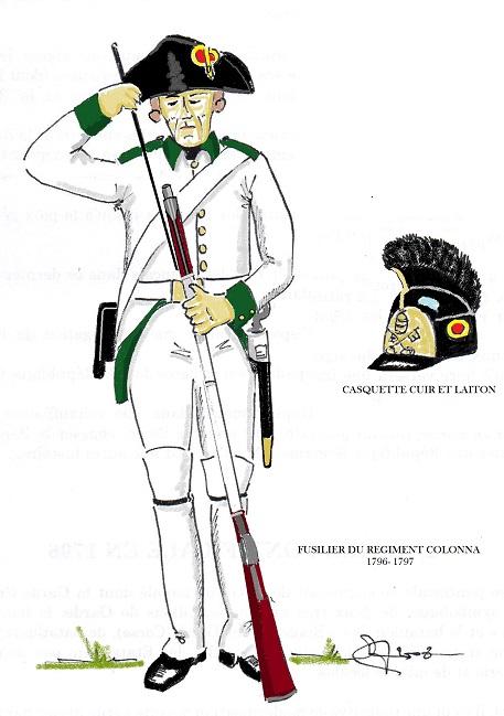 L'Armee des Etats du Pape 1796-1798  Rygime11