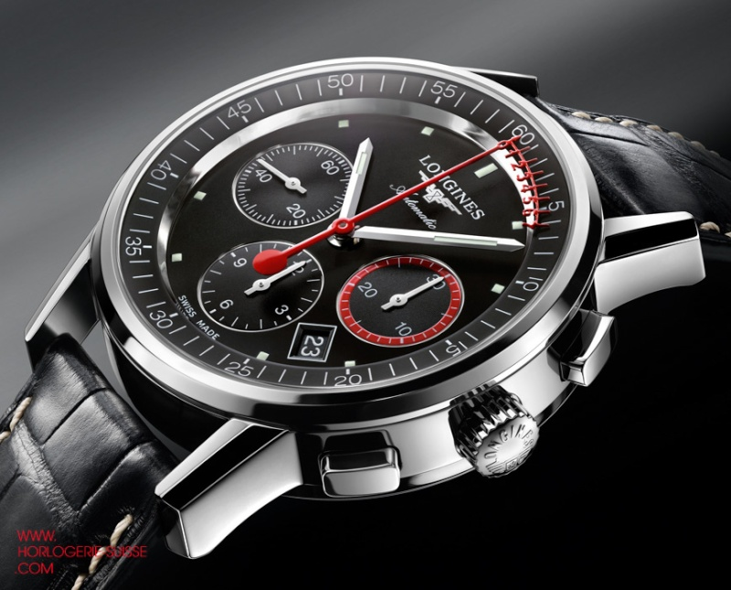LONGINES The Column-Wheel Chronograph Record Chrono10