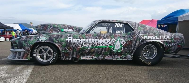 BBF Racing in Europe Design10
