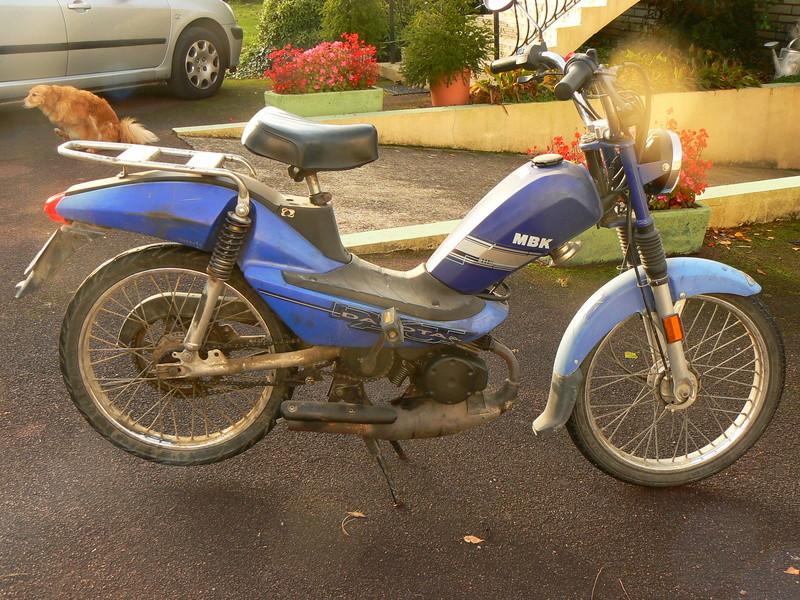 Ma nouvelle Mobylette MBK P1250753