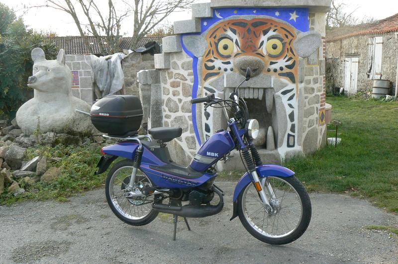 Ma nouvelle Mobylette MBK P1250826