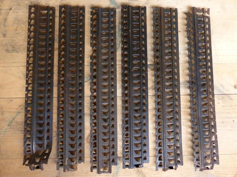 6 Bandes de mitrailleuse Hotchkiss Françaises ESC - MAI 1 Vendues P1210726