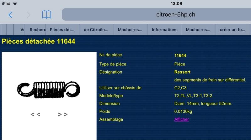 Machoires de frein  A9c14610