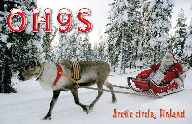 OH9S - Pohjoisin pukkiasema levillä 1-8.12. Oh9s10