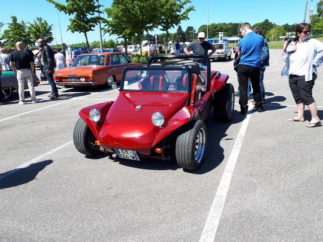 Balade du 3 Juin: Rassemblement voitures anciennes de mont St Aignan et lyons La forêt. 20180620
