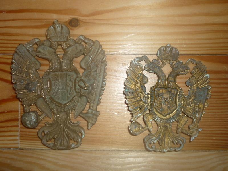insignes de shako austro hongrois P1020717