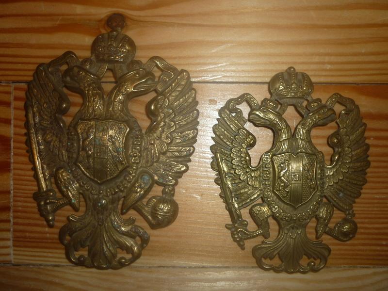 insignes de shako austro hongrois P1020718