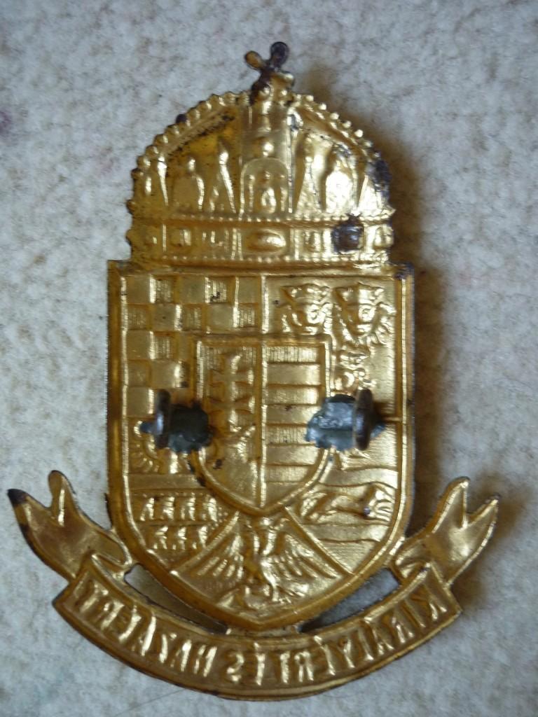 insignes de shako austro hongrois P1060811