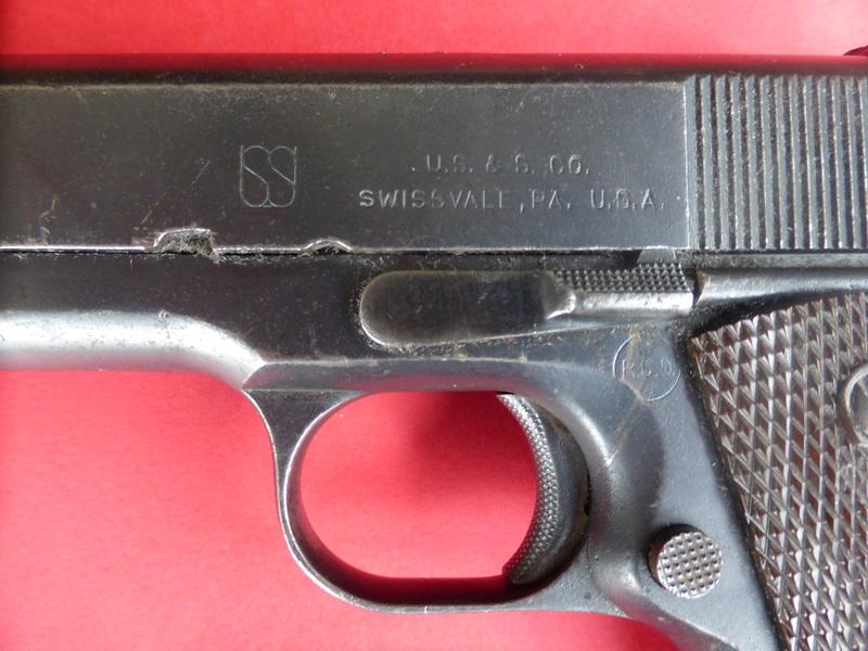 1911A1 US&S - UNION SWITCH & SIGNAL - Caractéristiques P1090323