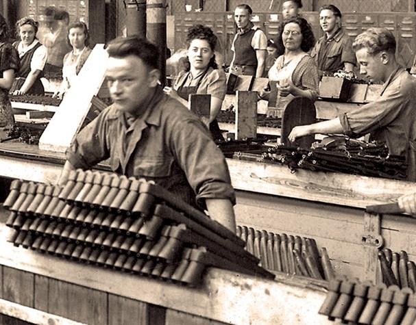 Garands et Carabines US en visite à FN-HERSTAL-Liège Vander20