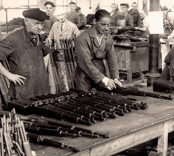 Garands et Carabines US en visite à FN-HERSTAL-Liège Vander21
