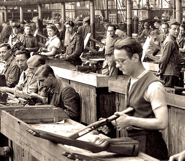 Garands et Carabines US en visite à FN-HERSTAL-Liège Vander22