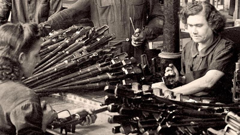 Garands et Carabines US en visite à FN-HERSTAL-Liège Vander23