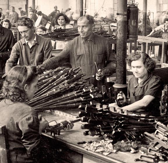 Garands et Carabines US en visite à FN-HERSTAL-Liège Vander24