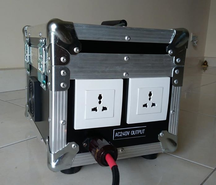Isolation Transformer 2500VA (2000Watt) - custom made B18