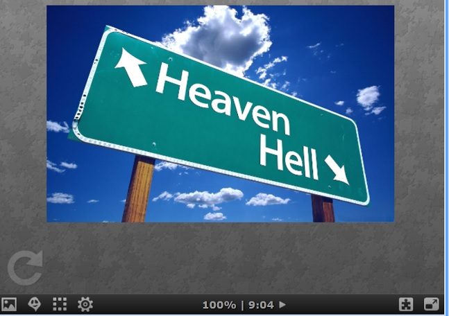 Puzzle #0350/ Heaven n hell Aa136