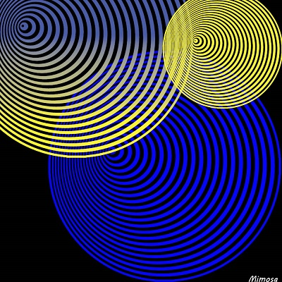 Puzzle #0414 / Spiral circles by Mimosa Spiral11
