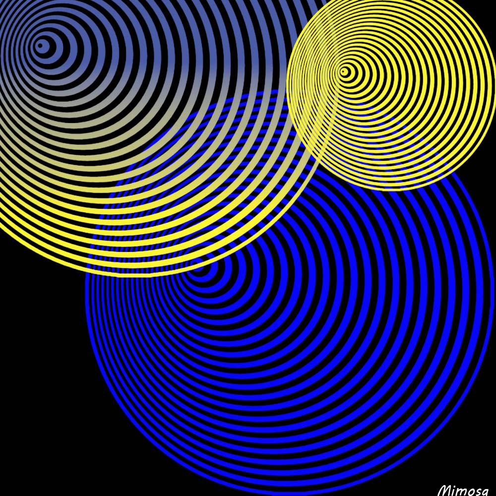 Puzzle #0414 / Spiral circles by Mimosa Spiral12