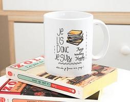 Les cadeaux de Noël pour une accro de lecture !  Tasse111
