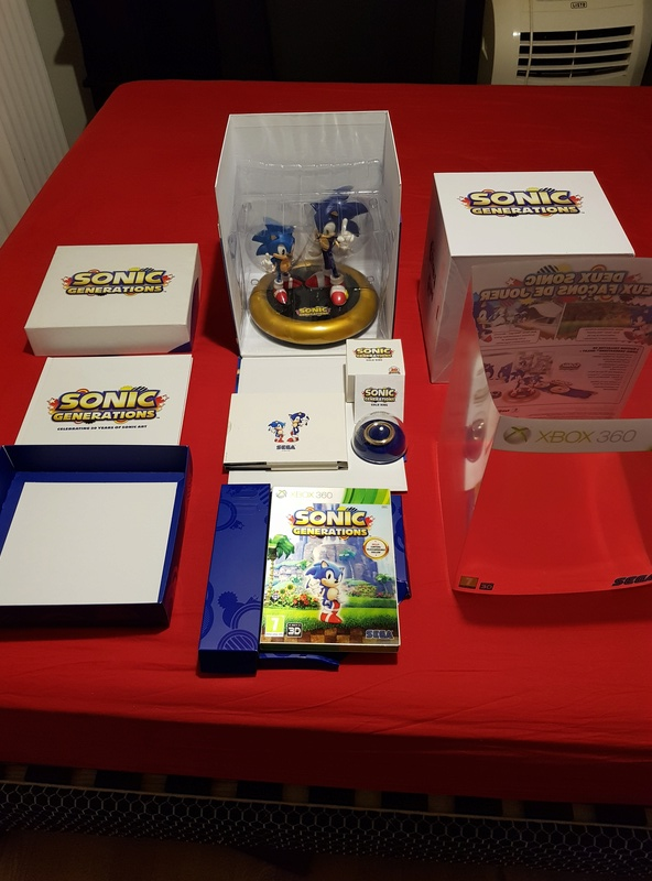 (ESTIM) : Sonic Generation collector Xbox 360 20171211