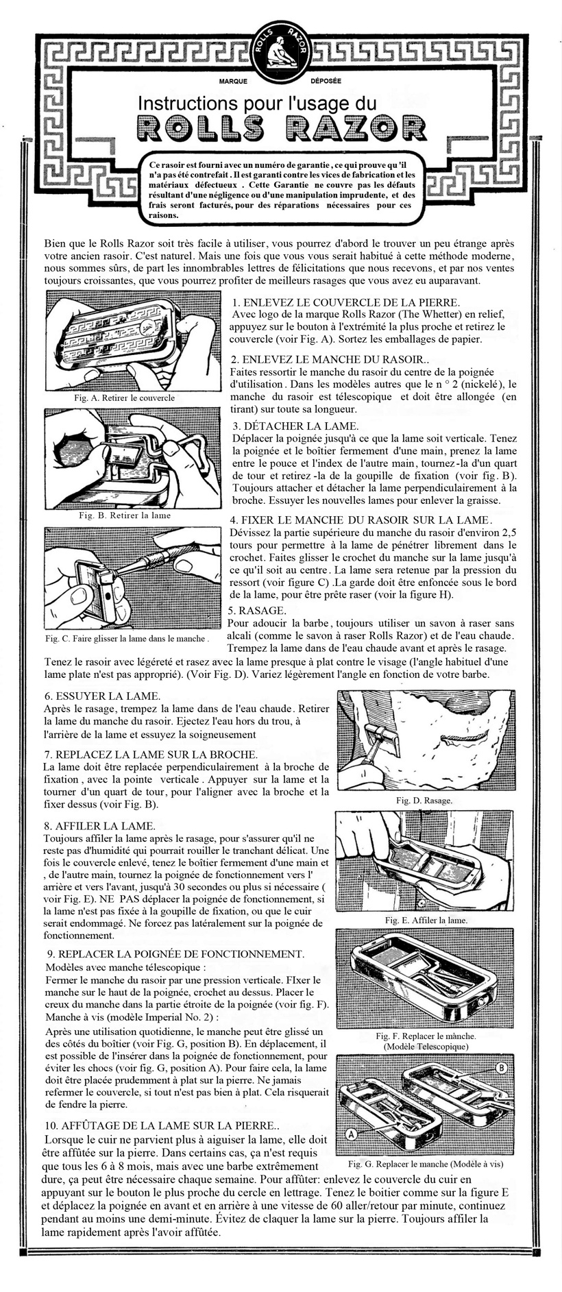 Rolls Razor Imperial N°2 - Page 2 Notice12