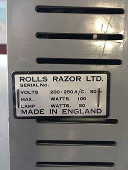 Rolls Razor Imperial N°2 - Page 2 Rr110