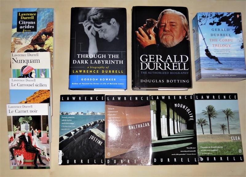 Ma collection sur Gerald et Lawrence Durrell Dsc03310