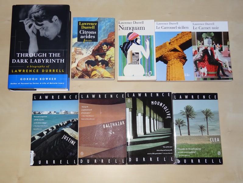 Ma collection sur Gerald et Lawrence Durrell Dsc03311