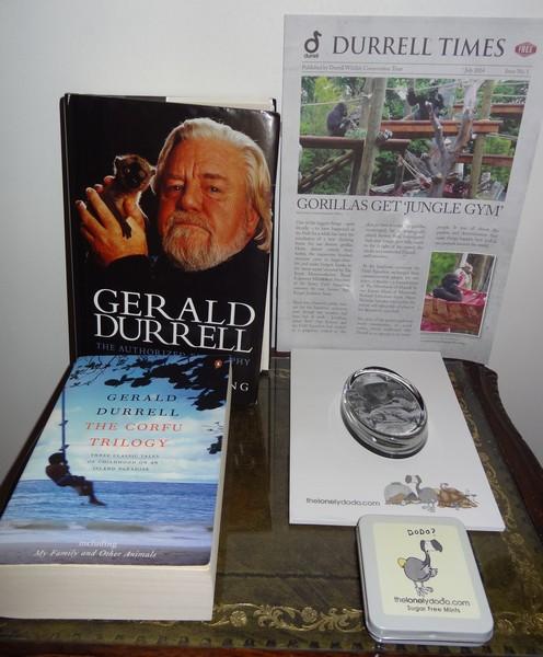 Ma collection sur Gerald et Lawrence Durrell Dsc03312