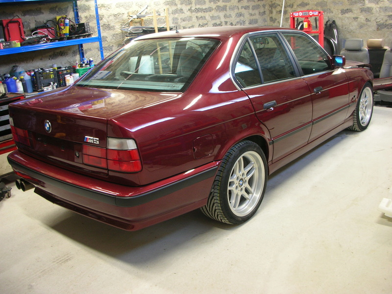 BMW M5/// E34 3.6 1990  Dscn7411