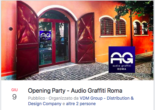 evento audio a Roma  Scherm20