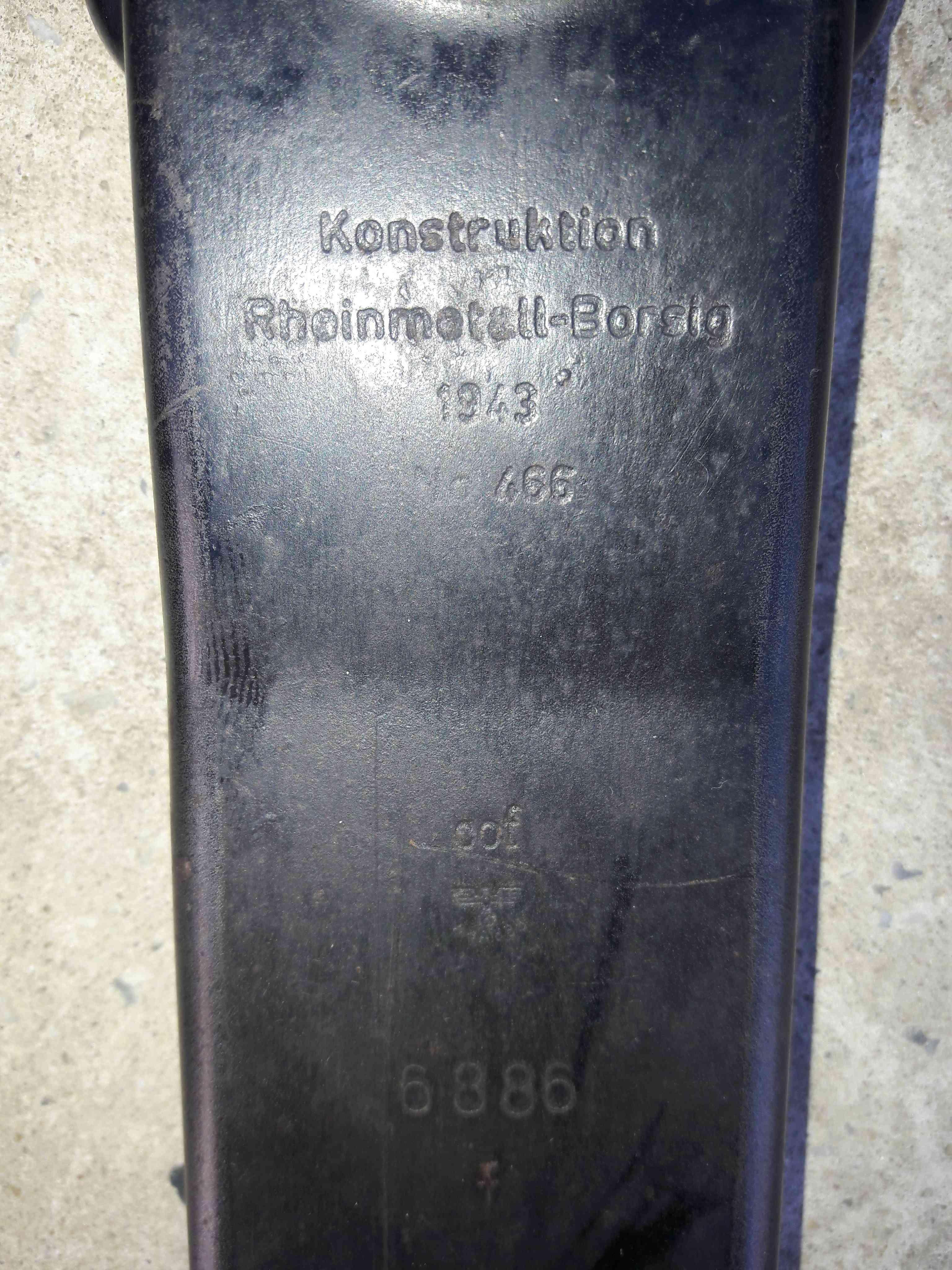 Marquage sur MG34 34036910