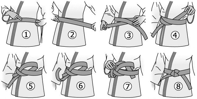 Comment nouer sa ceinture? Nouer_10