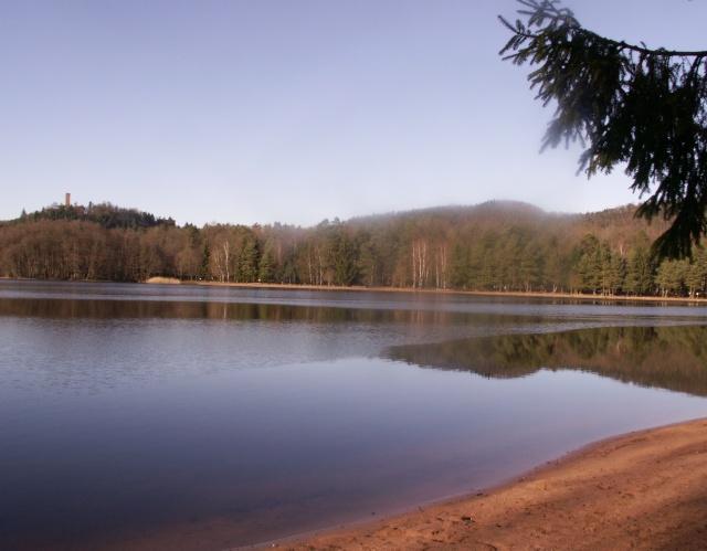"""Camping   """"Le lac d'hanau"""" 00110"""