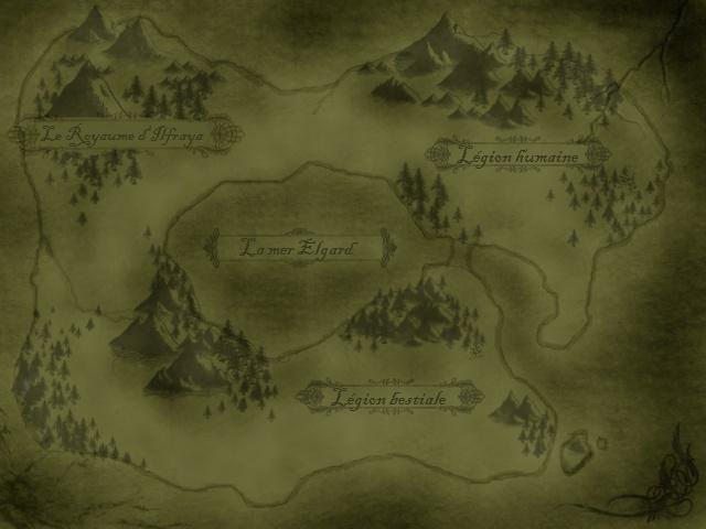 L'ouverture du temps I - La conquête d'Erwen. Carte10