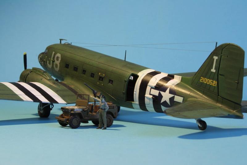 """C47 """"Skyrain"""" 1944 de chez AIRFIX au 1/72eme C47_1211"""