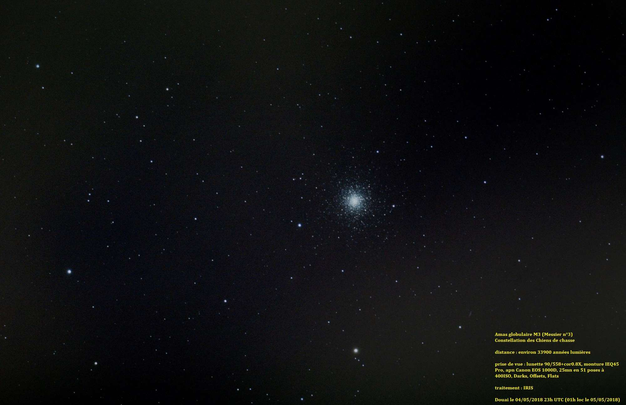 Ma toute première photo CP : M3 M3_le_10