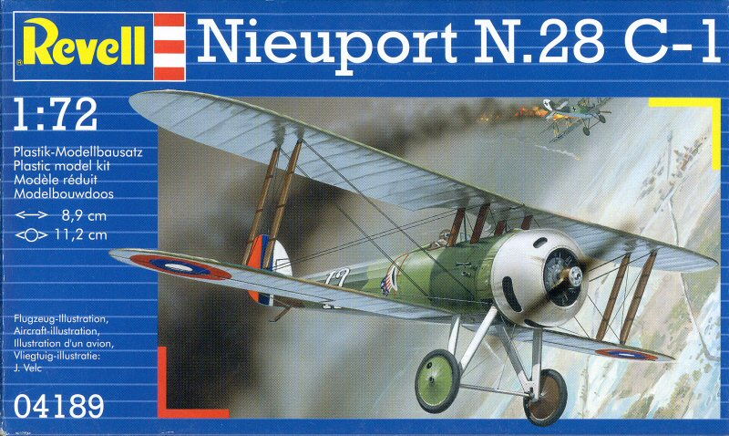 Nieuport Ni28 C1 Suisse de chez Revell au 1/72 Nieupo11