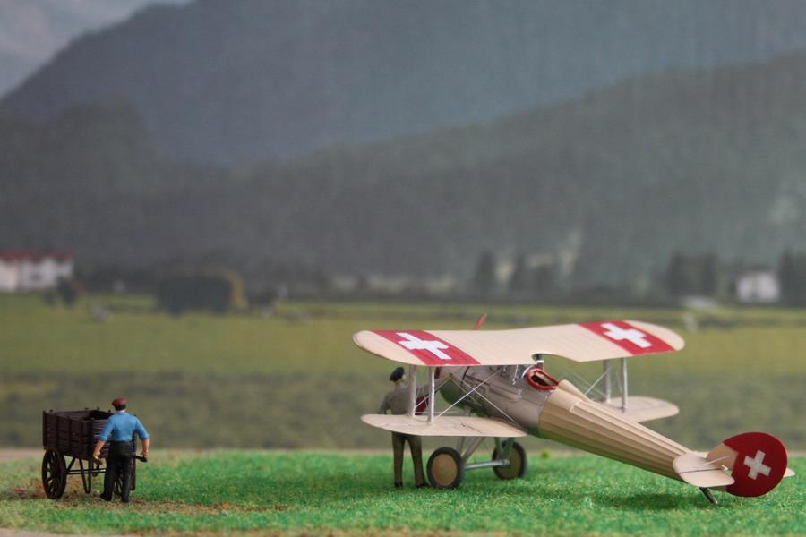 Nieuport Ni28 C1 Suisse de chez Revell au 1/72 Nieupo13