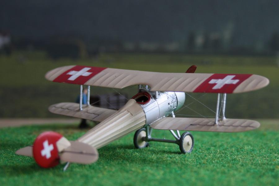 Nieuport Ni28 C1 Suisse de chez Revell au 1/72 Nieupo14