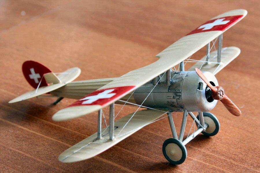 Nieuport Ni28 C1 Suisse de chez Revell au 1/72 Nieupo15
