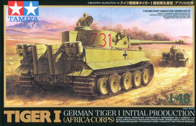 Un félin dans le sable : Tigre I Tamiya 1/48eme (fini) Tigre_12