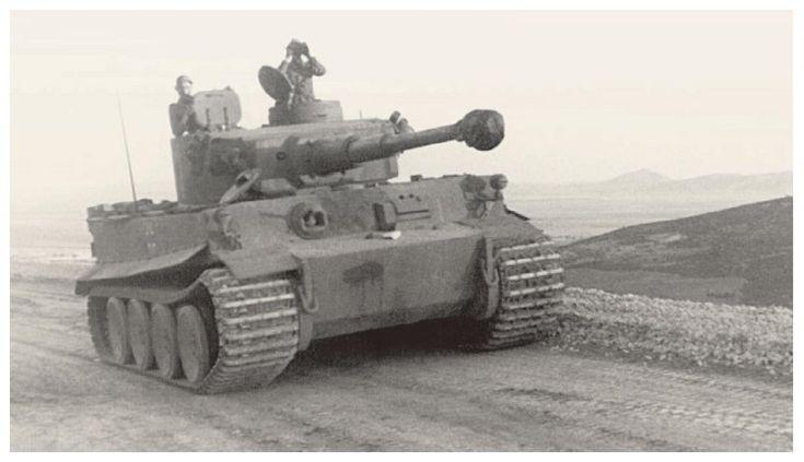 Un félin dans le sable : Tigre I Tamiya 1/48eme (fini) Tigre_29