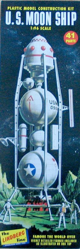 US Moon Ship de chez Lindberg : TERMINE ! ! ! Us_moo12