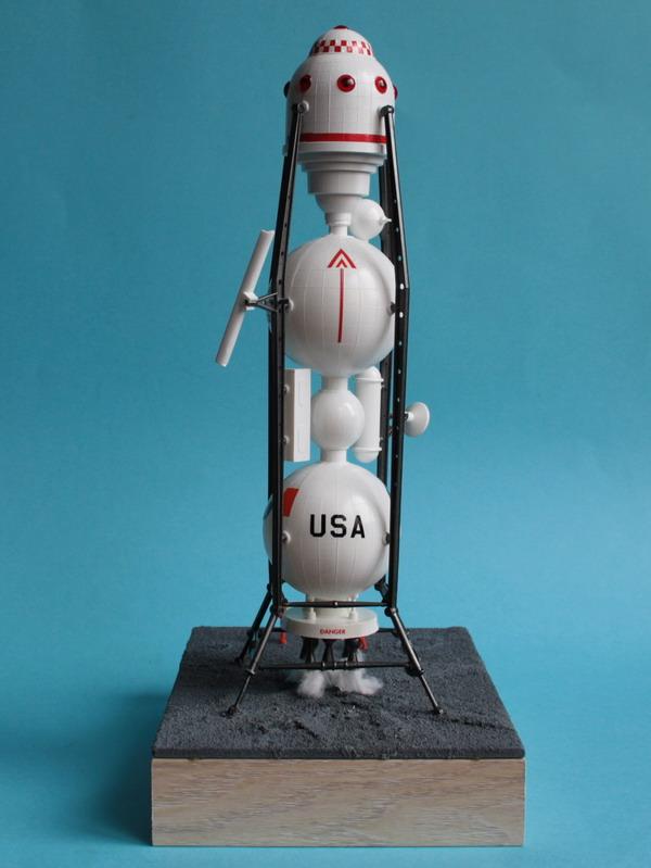 US Moon Ship de chez Lindberg : TERMINE ! ! ! - Page 4 Us_moo69