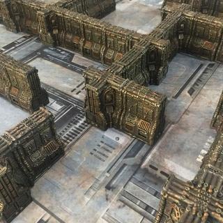 [Necromunda] murs pour zone mortalis 24796610