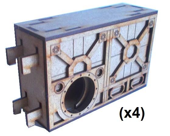 [Necromunda] murs pour zone mortalis B28-sf10